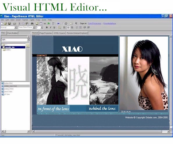 Get your FREE copy of PageBreeze, our award-winning Free HTML Editor!